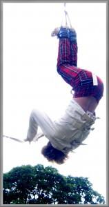 David Straitjacket - Suspended Straitjacket Escape
